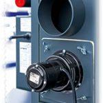 Odtahový ventilátor minimalizuje kouření při přikládání a provozu kotle